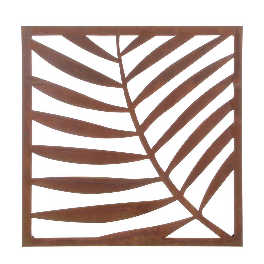 Muurdecoraties Voor Buiten.Mica Muurdecoratie Palm Wehkamp