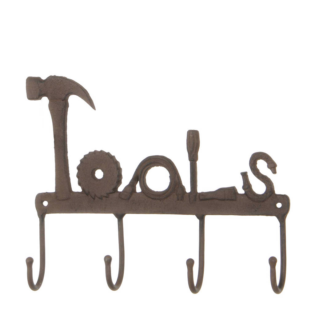 House of Seasons kapstok tools, Roest