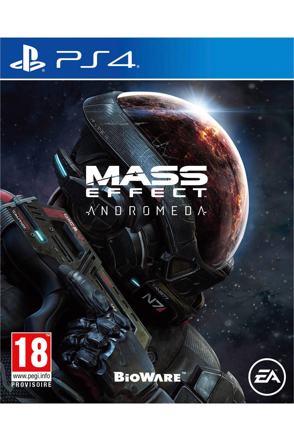 Mass Effect Andromeda (PlayStation 4), Sony PlayStation 4