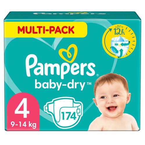 Pampers Baby-Dry Maandbox Maat 4 (Maxi) 7-18 kg 174 Luiers