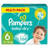 Pampers Baby-Dry maandbox maat 6 (13-18kg) 124 luiers, 6 (13-18 kg)