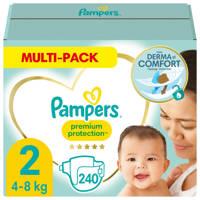 Pampers Premium Protection maandbox maat 2 (4-8 kg) 240 luiers