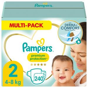 Pampers Premium Protection Maandbox Maat 2 (4kg-8kg) 240 Luiers