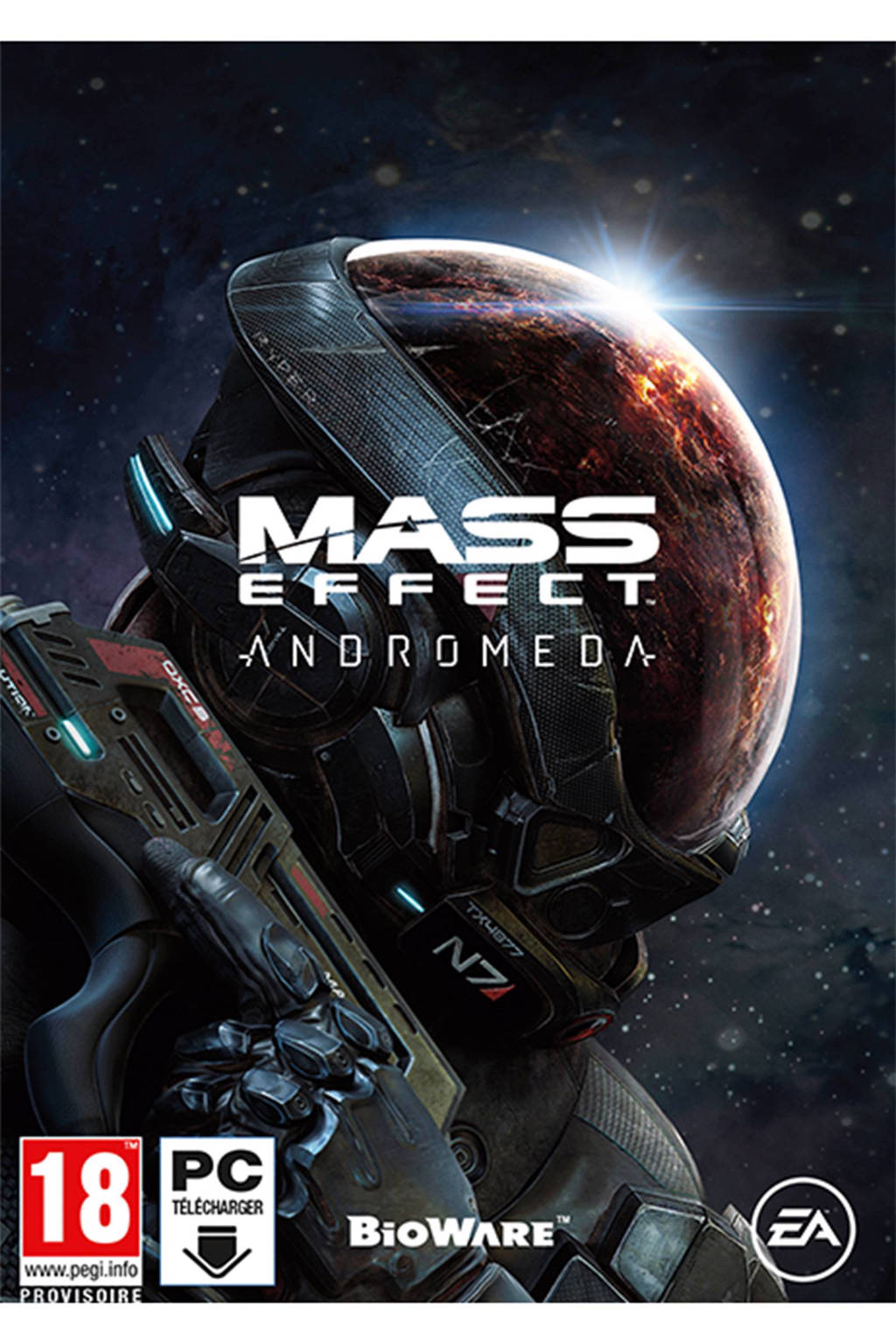 Mass Effect: Andromeda - download code (PC), PC DVD-ROM