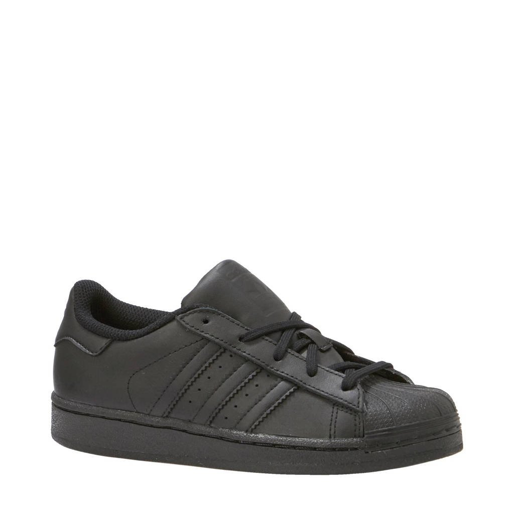 adidas originals Superstar Foundation CF I sneakers  kids, Zwart