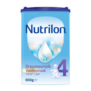 Dreumesmelk 4 Vanille - vanaf 12 maanden - 800 gram - Flesvoeding