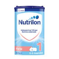 Nutrilon  Forte 1 - vanaf 0 maanden - aangepaste eiwitsamenstelling - 800 gram - Flesvoeding