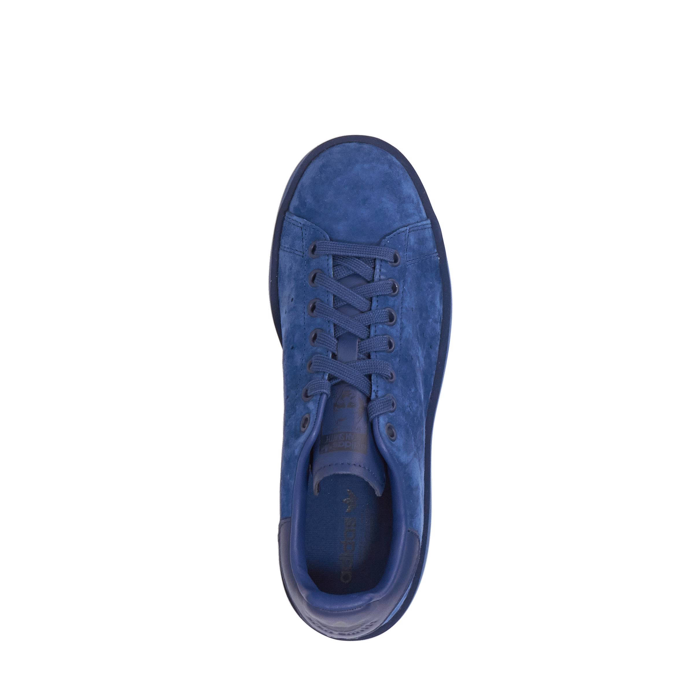 300e5365579 adidas originals Stan Smith Bold W nubuck sneakers | wehkamp