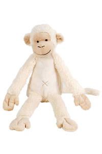 Happy Horse aap Mickey knuffel 32 cm, Ivory