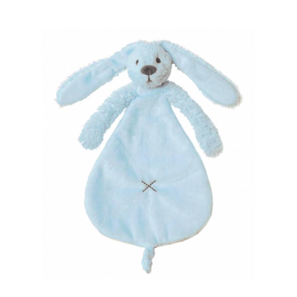 Happy Horse konijn Richie knuffeldoekje, blue