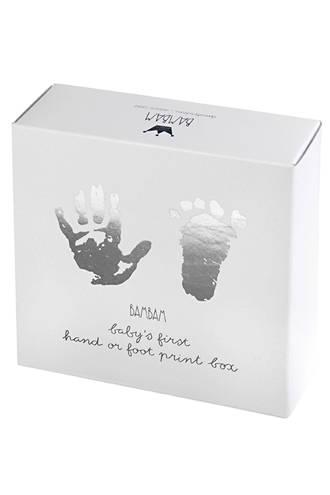 voet/hand print gipsblik