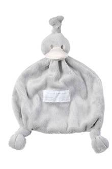 Duck Tuttle grijs knuffeldoekje