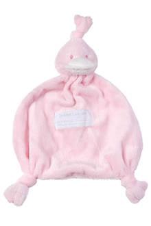 Duck Tuttle roze knuffeldoekje