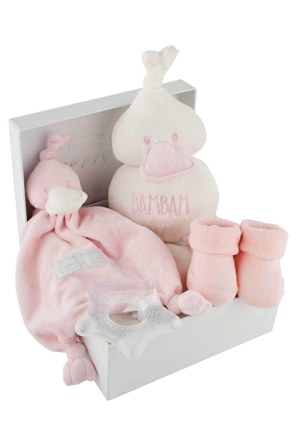 BamBam geschenkset roze, Roze