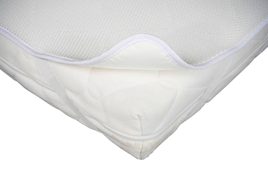 Aerosleep Matras Baby : Aerosleep polyester baby protect matrasbeschermer 60x120 cm wit