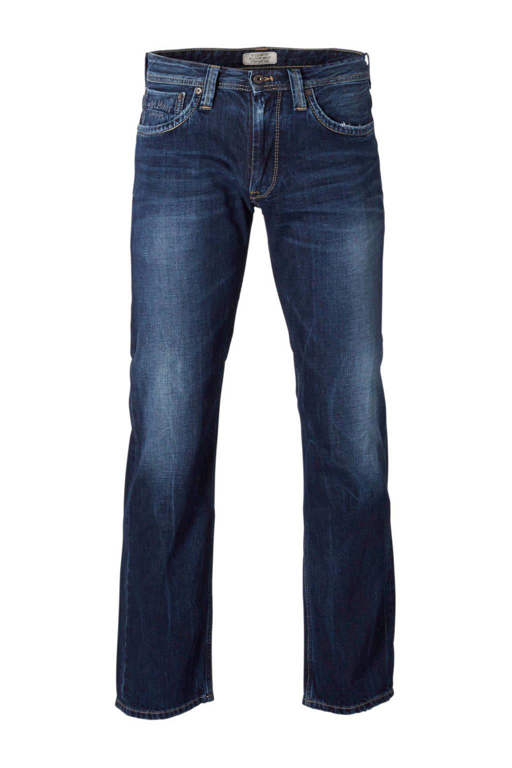 Pepe Jeans regular fit jeans Kingston dark used, Dark used
