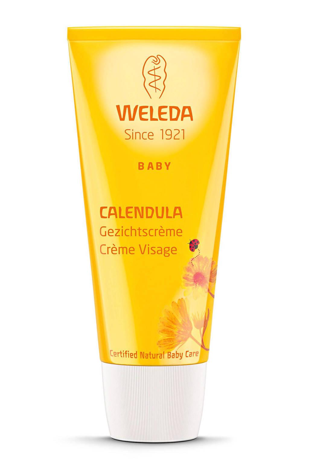 Weleda Calendula Baby gezichtscreme