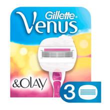 Venus & Olaz sugarberry - 3 scheermesjes