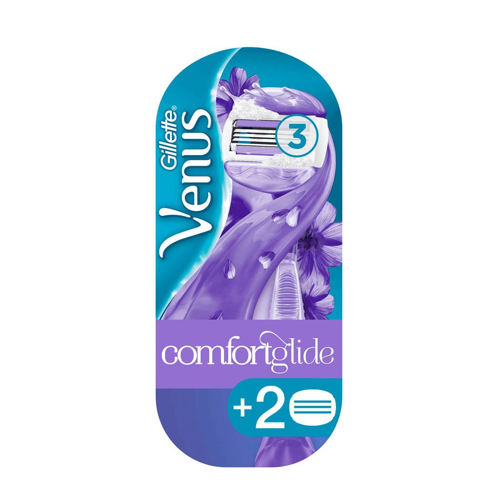 Gillette Venus Breeze scheersysteem - 2 scheermesjes, 1