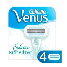Venus Embrace Sensitive - 4 scheermesjes