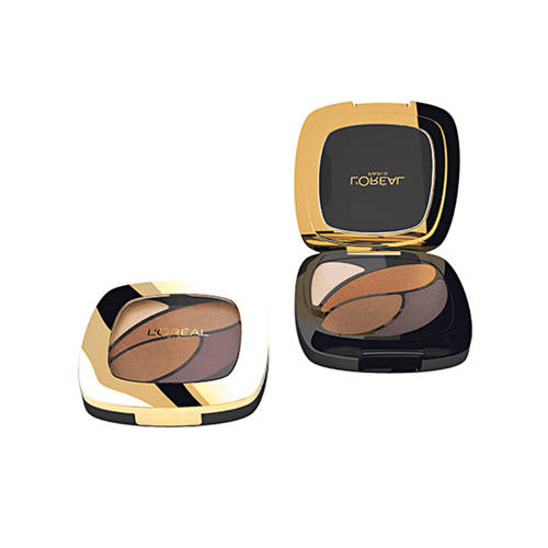 Loreal Paris Color Riche Quad Oogschaduw E3 Infiniment Bronze Stuk