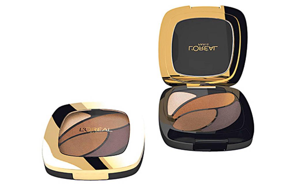 L'Oréal Paris Color Riche Quad oogschaduw - E3 infiniment bronze, Bruin