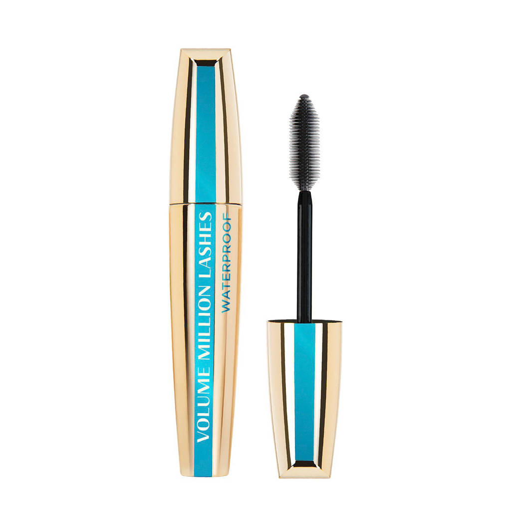 L'Oréal Paris Volume Million Lashes Waterproof mascara - Zwart, Zwart - Waterproof