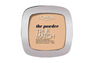 True Match compacte poeder - W3 golden beige