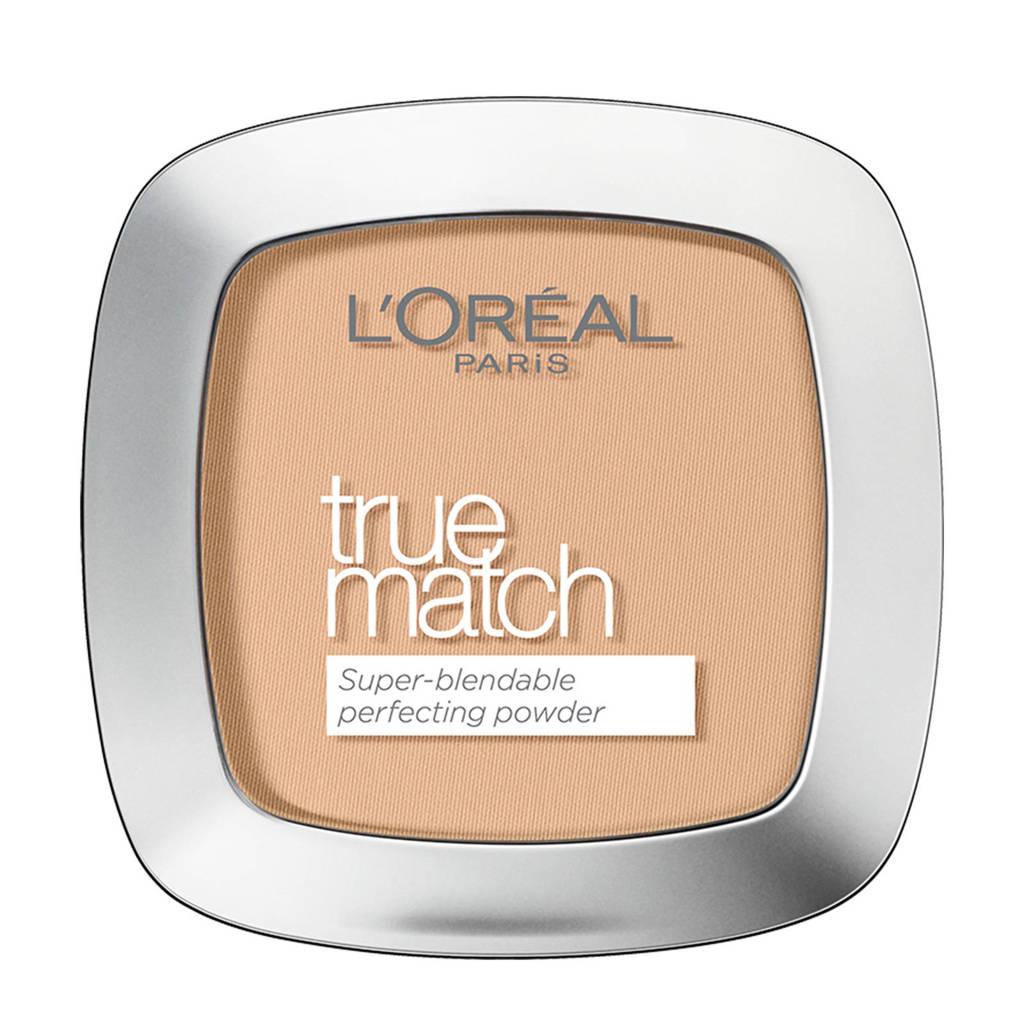 L'Oréal Paris True Match compacte poeder- W5 golden sand, W5 Golden Sand