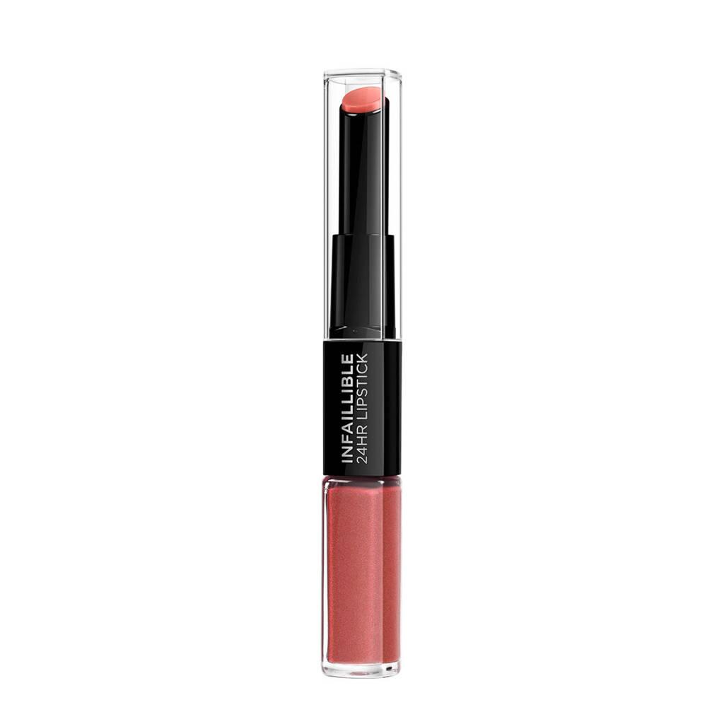 L'Oréal Paris Infallible - 404 Corail Constant - lippenstift