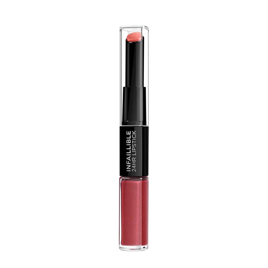 L'Oréal Paris Infallible - 507 relentless rouge - lippenstift
