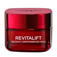 L'Oréal Paris Skin Expert Revitalift gezicht, contouren en hals crème