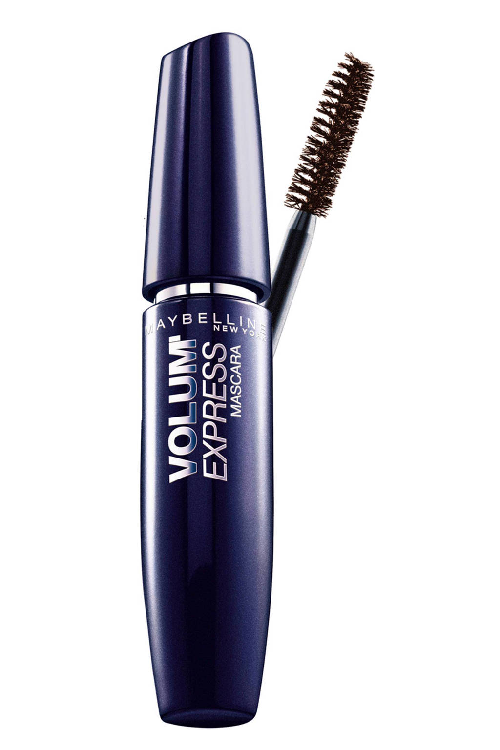 Maybelline Volum'Express mascara - dark brown, Dark Brown