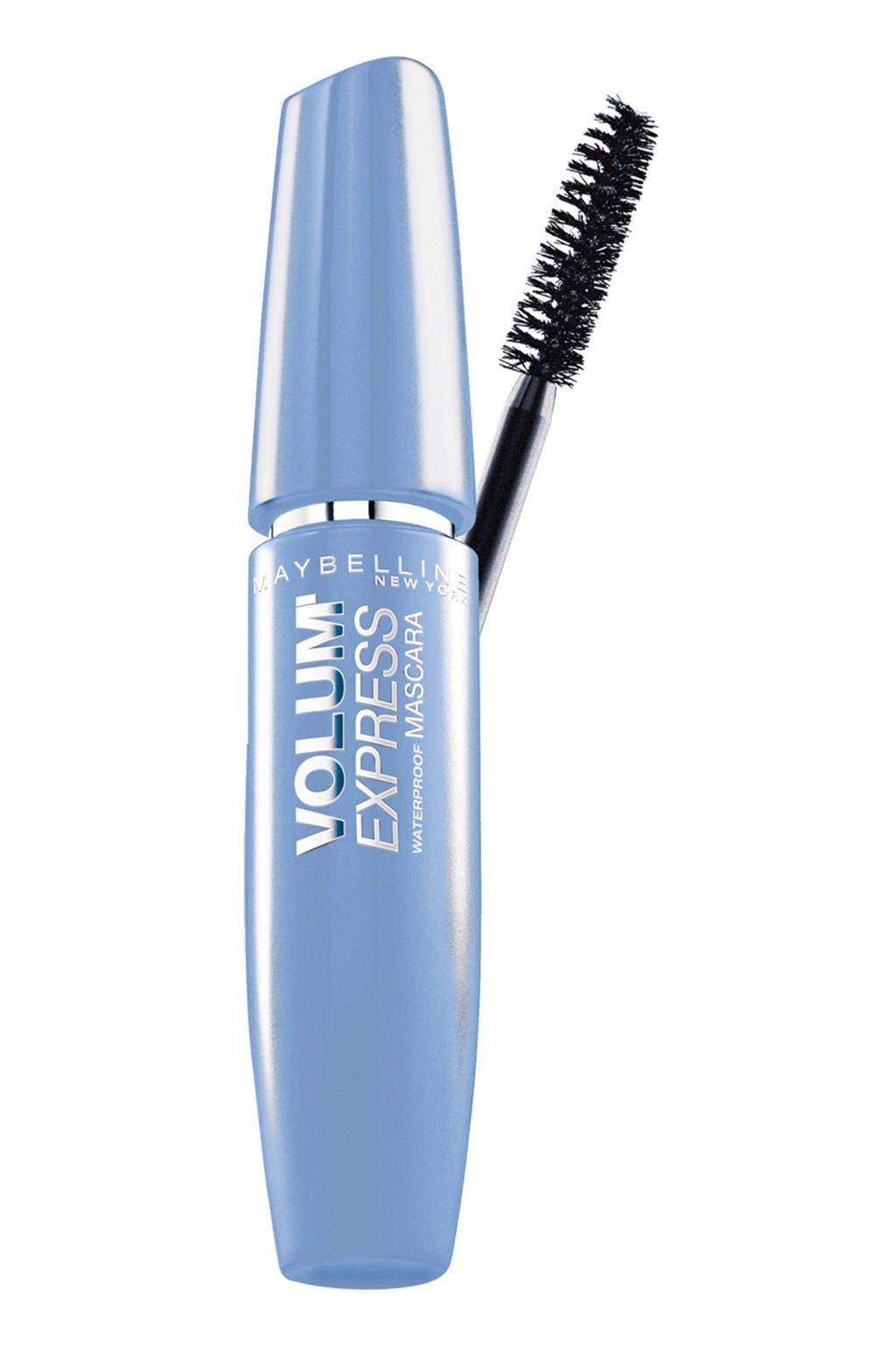 Maybelline New York Volum'Express Waterproof mascara - black, Zwart