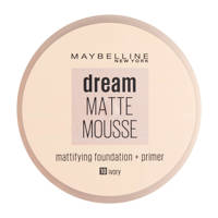 Maybelline New York Dream Matte Mousse foundation - 10 ivory, 10 Ivory