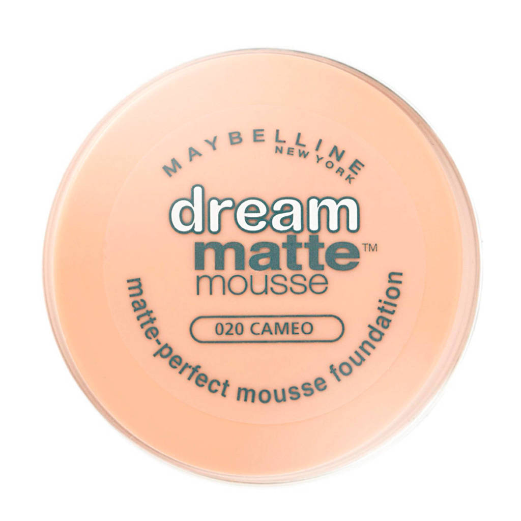 Maybelline New York Dream Matte Mousse foundation - 20 cameo, 20 Cameo