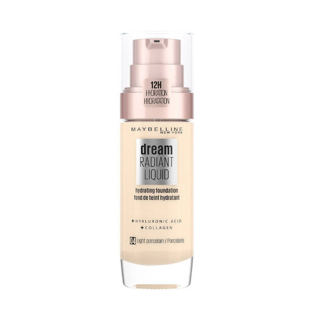 Maybelline New York Dream Radiant Liquid Foundation - 04 light porcelain