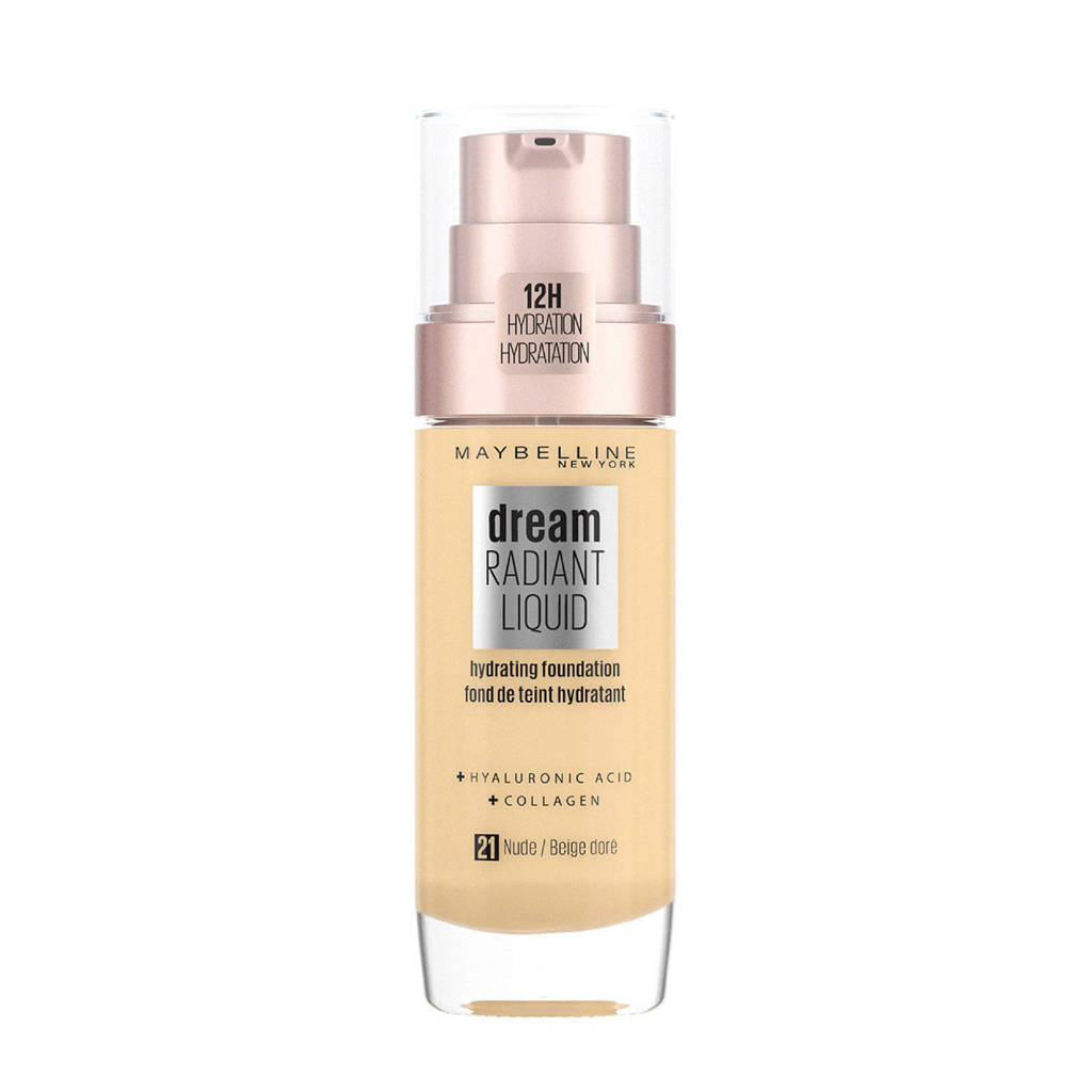 Maybelline New York Dream Radiant Liquid Foundation - 21 Nude Beige