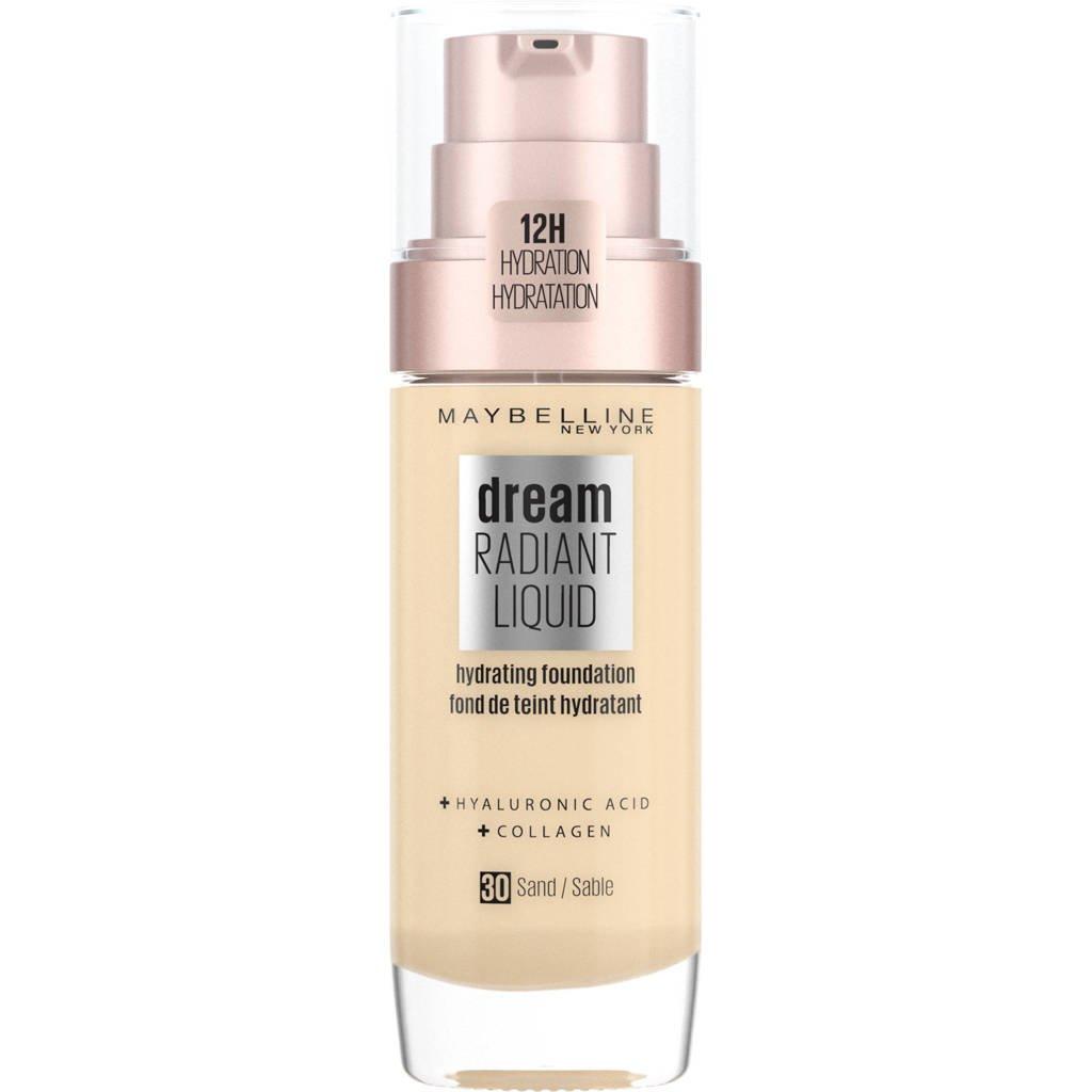 Maybelline New York Dream Radiant Liquid Foundation - 030 Sand