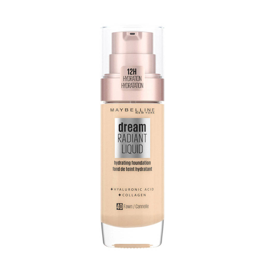 Maybelline New York Dream Radiant Liquid Foundation - 40 Fawn