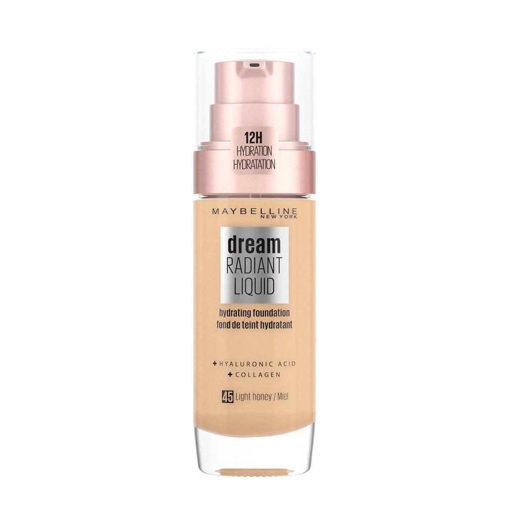 Maybelline New York Dream Radiant Liquid Foundation  - 45 Light Honey