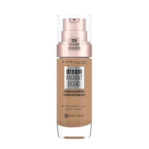 Maybelline Dream Satin Liquid Foundation 60 Caramel Stuk