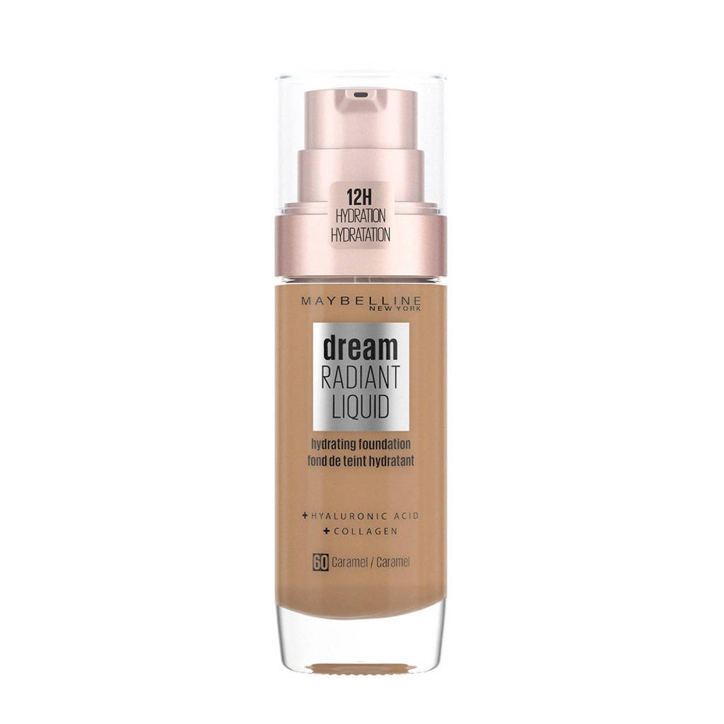 Maybelline New York Dream Radiant Liquid Foundation - 60 Caramel