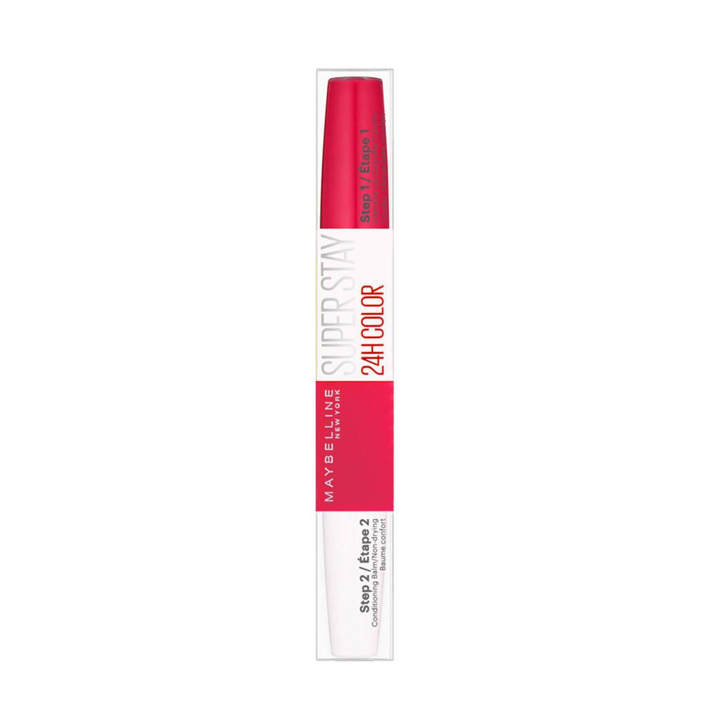 Maybelline New York SuperStay 24HRS lippenstift - 195 Raspberry