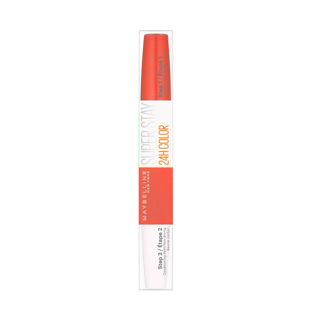 Maybelline New York SuperStay 24HRS lippenstift - 444 Cosmic Coral