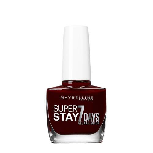 Maybelline Forever Strong Nagellak 287 Midnight Red Stuk