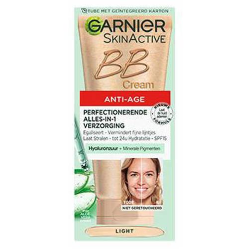 Garnier Skin Naturals BB Cream Miracle Skin Perfector Anti Veroudering Lichte Huid 50ml