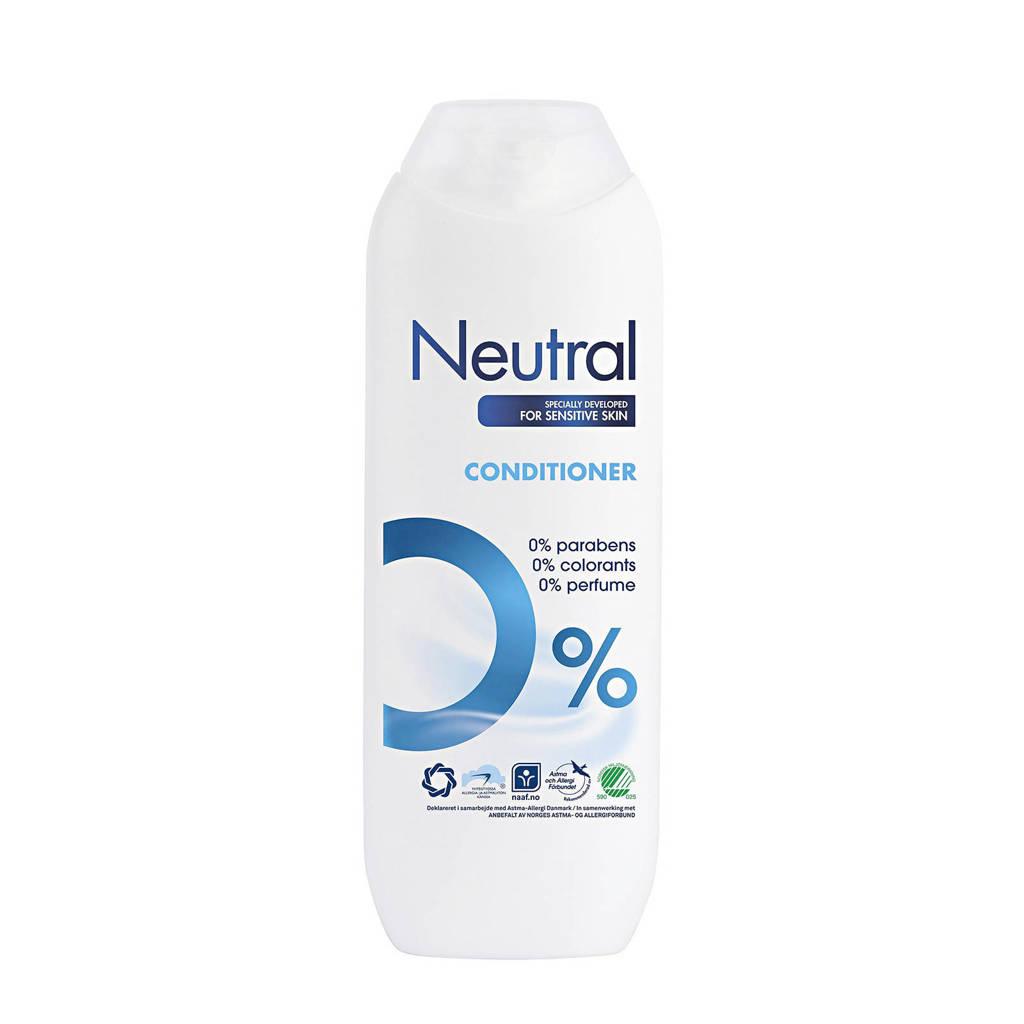 Neutral conditioner - 250 ml - parfumvrij