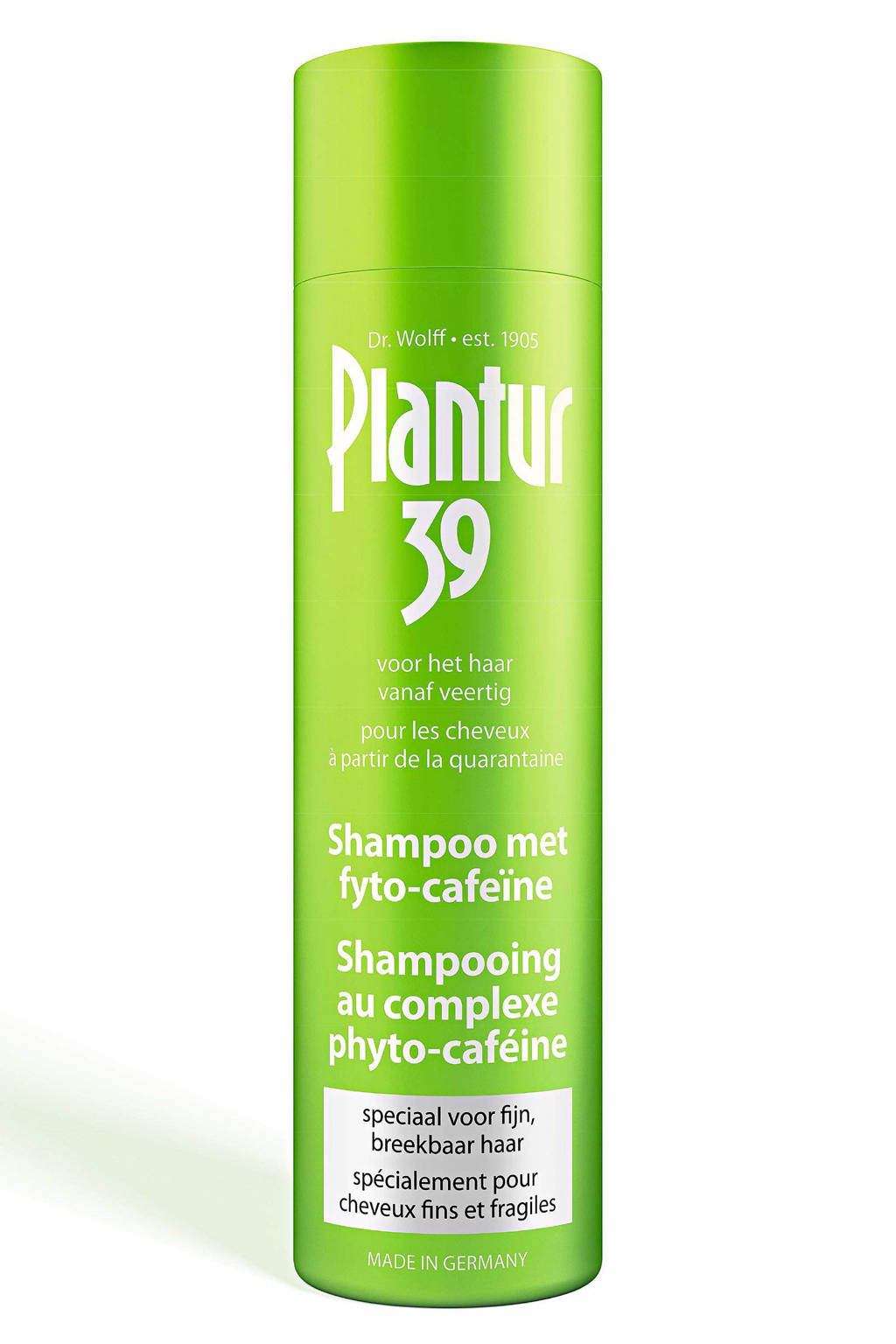 Plantur 39 Cafeïne shampoo - fijn en breekbaar haar