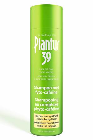 Cafeïne shampoo - gekleurd haar